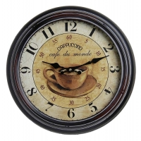 Ceas: Ceas de perete Antique HOME 21154 Cappuccino