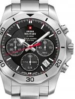Ceas: Ceas barbatesc Swiss Military SMS34072.01 Solar Cronograf 44mm 10ATM