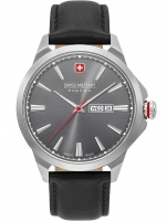 Ceas: Ceas barbatesc Swiss Military Hanowa 06-4346.04.009 Day-Date Classic 45mm 10ATM