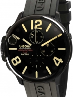 Ceas: Ceas barbatesc U-Boat 8109/C Capsoil Chrono DLC 45mm 10ATM