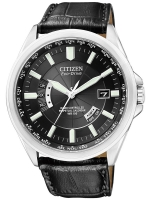 Ceas: Ceas barbatesc Citizen Eco-Drive CB0010-02E Saphir 43 mm, 10 ATM