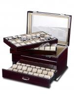 Ceas: Cutie Ceasuri Lemn  Rothenschild RS-5073-MCS Exclusive-Line Pentru 72 Ceasuri
