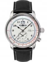 Ceas: Ceas barbatesc Zeppelin 8644-1 Dual-Time  43mm 5ATM
