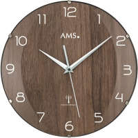 Ceas: AMS 5558 klassische Funkwanduhr  - Serie: AMS Design