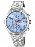 Ceas: Ceas barbatesc Festina F20374/5 Timeless Cronograf 41mm 10ATM