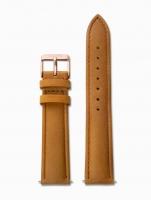 Ceas: Cluse Ersatzband CLS003 [18 mm] braun m. rosé Schließe