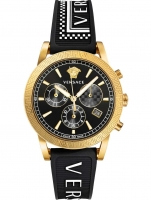 Ceas: Ceas de dama Versace VELT00119 Sport Tech Cronograf 40mm 5ATM