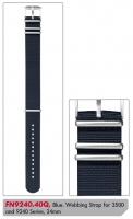 Ceas: Curea de schimb Luminox Textil  FN9240.40Q [24 mm] Albastru inchis