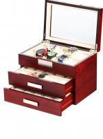 Ceas: Rothenschild Uhrenbox RS-2350-30C für 30 Uhren cherry