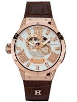 Ceas: Ceas de dama Haemmer GL-400 Evolution Amber  45mm 10ATM