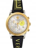 Ceas: Ceas de dama Versace VELT00519 Sport Tech Cronograf 40mm 5ATM