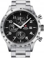 Ceas: Ceas barbatesc Swiss Military SM34084.01 Cronograf 42 mm 10ATM