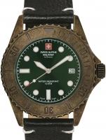 Ceas: Ceas barbatesc Swiss Alpine Military 7051.1583 Diver Vintage 41mm 10ATM