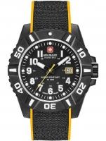 Ceas: Swiss Military Hanowa 06-4309.17.007.79 Black Carbon Herren 44mm 10ATM