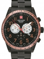 Ceas: Ceas barbatesc Swiss Alpine Military 7082.9187 Chrono 45mm 10ATM