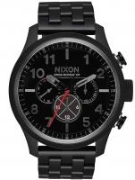 Ceas: Ceas barbatesc Nixon A1081-001 Safari Dual-Time 46mm 10ATM