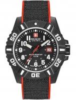 Ceas: Swiss Military Hanowa 06-4309.17.007.04 Black Carbon Herren 44mm 10ATM