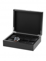 Ceas: Cutie Lemn Rothenschild RS-2376-8BL Pentru 8 Ceasuri