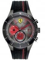 Ceas: Ceas barbatesc Scuderia Ferrari 0830341 Red Red Evo Cronograf 50mm 5ATM