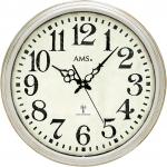 Ceas: AMS 5559 klassische Funkwanduhr im Vintage-Look Serie: AMS Design