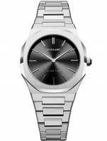 Ceas: D1 Milano UTBL05 Silver Night Ultra Thin 34 mm Damen 5ATM