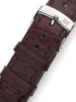 Ceas: Curea de ceas Morellato A01U3932A68032CR18 braunes Alligator Uhren18mm