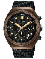 Ceas: Ceas barbatesc Pulsar PT3984X2 One Shot chrono cu 2 curele de schimb  42mm 10ATM