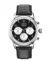 Ceas: Ceas barbatesc Cerruti CRA107SN02BK Bellagio Cronograf 44mm 5ATM