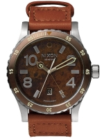 Ceas: Ceas barbatesc Nixon A269-1958 Diplomat Dark Copper Saddle 45mm 20ATM