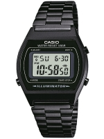 Ceas: Ceas barbatesc Casio B640WB-1AEF Collection Cronograf 5 ATM 35 mm
