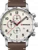 Ceas: Ceas barbatesc Wenger 01.1543.113 Attitude Cronograf 44mm 10ATM