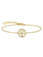Ceas: Thomas Sabo Armband Tree of Love A1828-414-14 16-19cm