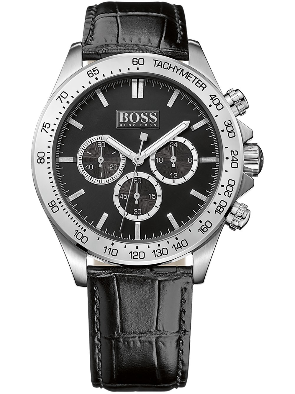 ceas barbatesc hugo boss 1513178 ikon chrono 44mm 10atm