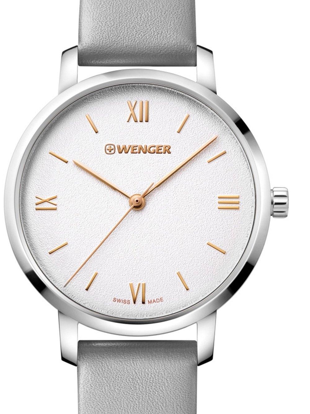 ceas de dama wenger 01.1731.102 metropolitan donnissima 38mm 10atm