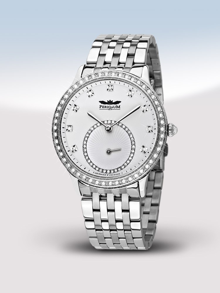 ceas de dama perigaum queen p-1311-as-wh-brc 38 mm 5atm