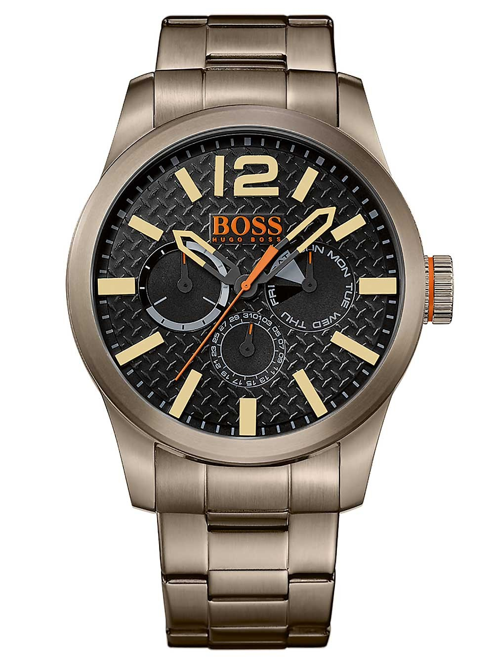 ceas barbatesc hugo boss orange 1513313 paris 3atm 47mm