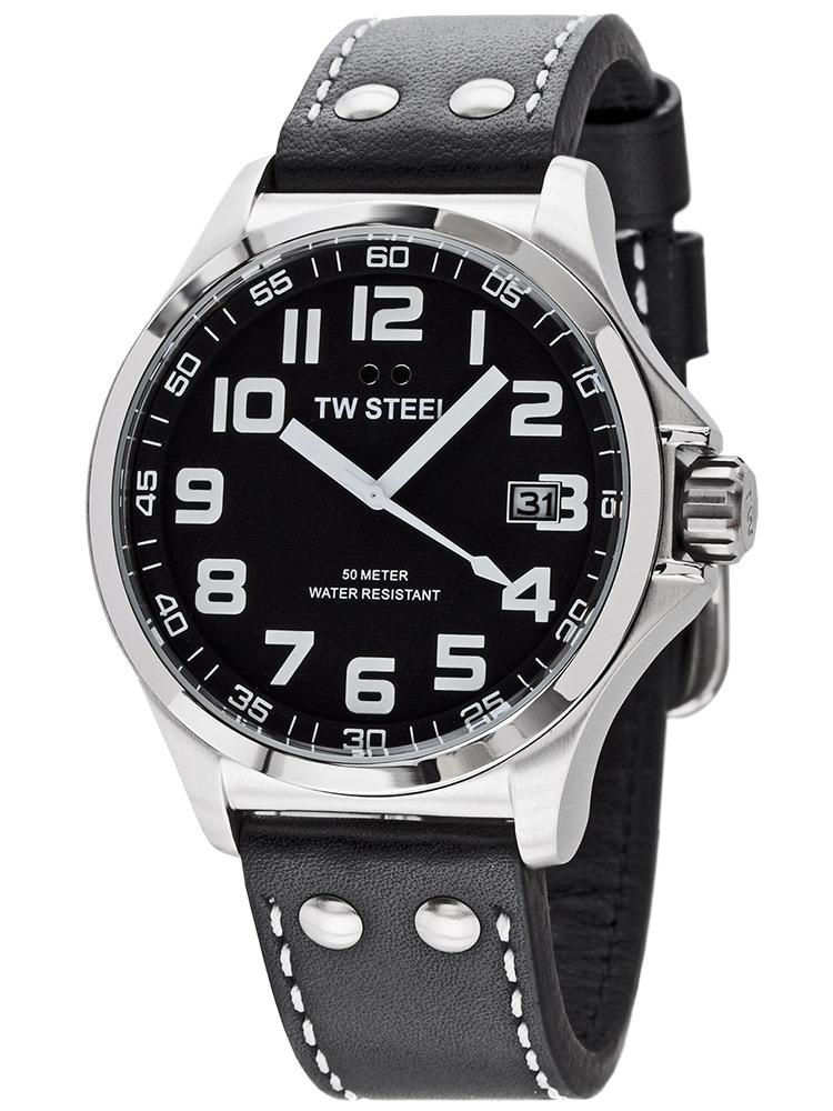 ceas barbatesc tw-steel pilot tw408 45mm