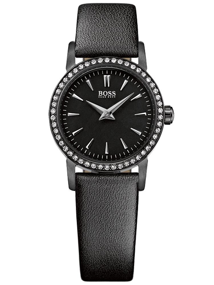 ceas de dama hugo boss black 1502357 3 atm 24 mm