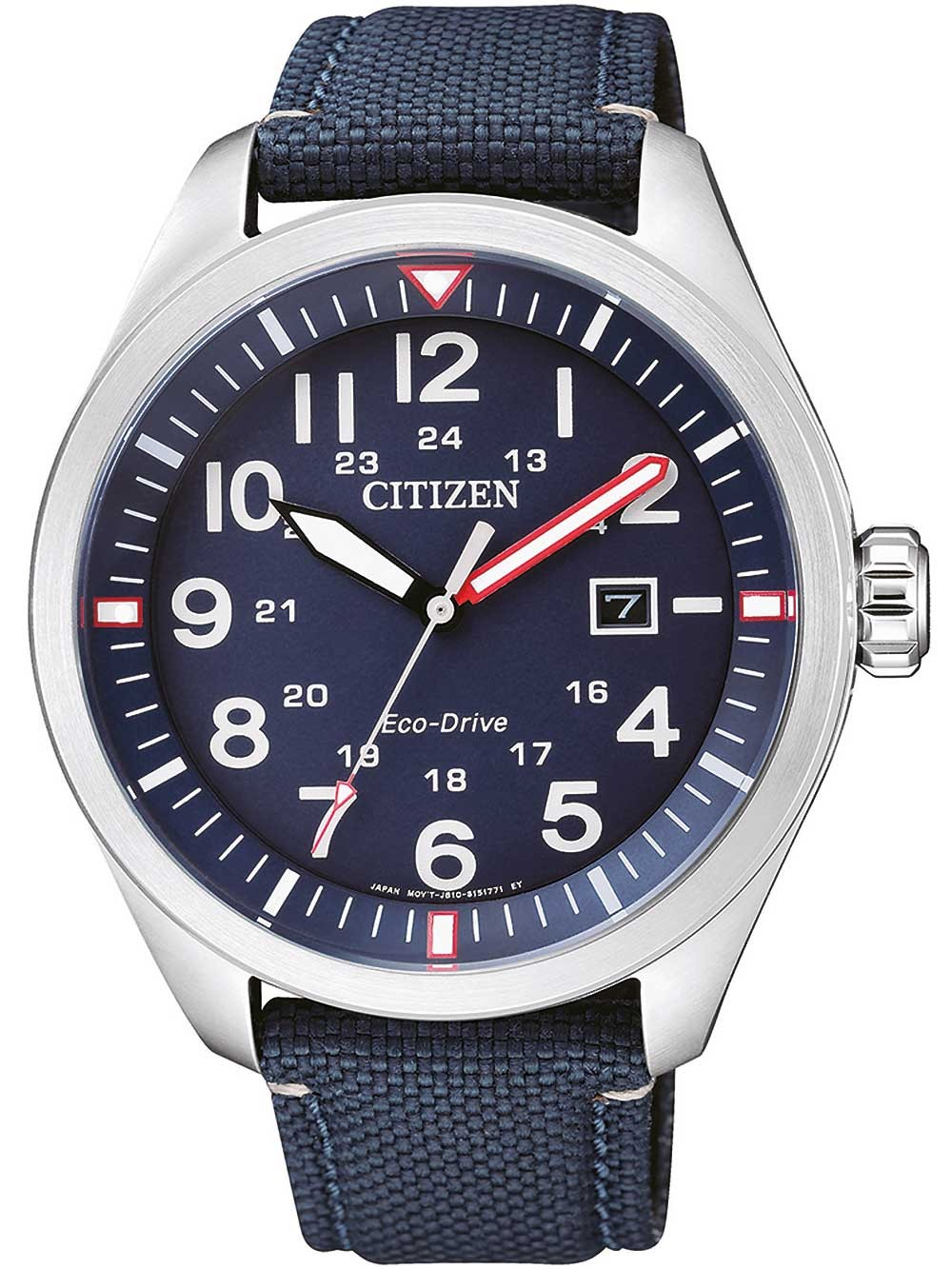 ceas barbatesc citizen aw5000-16l eco-drive sports 43mm 10atm