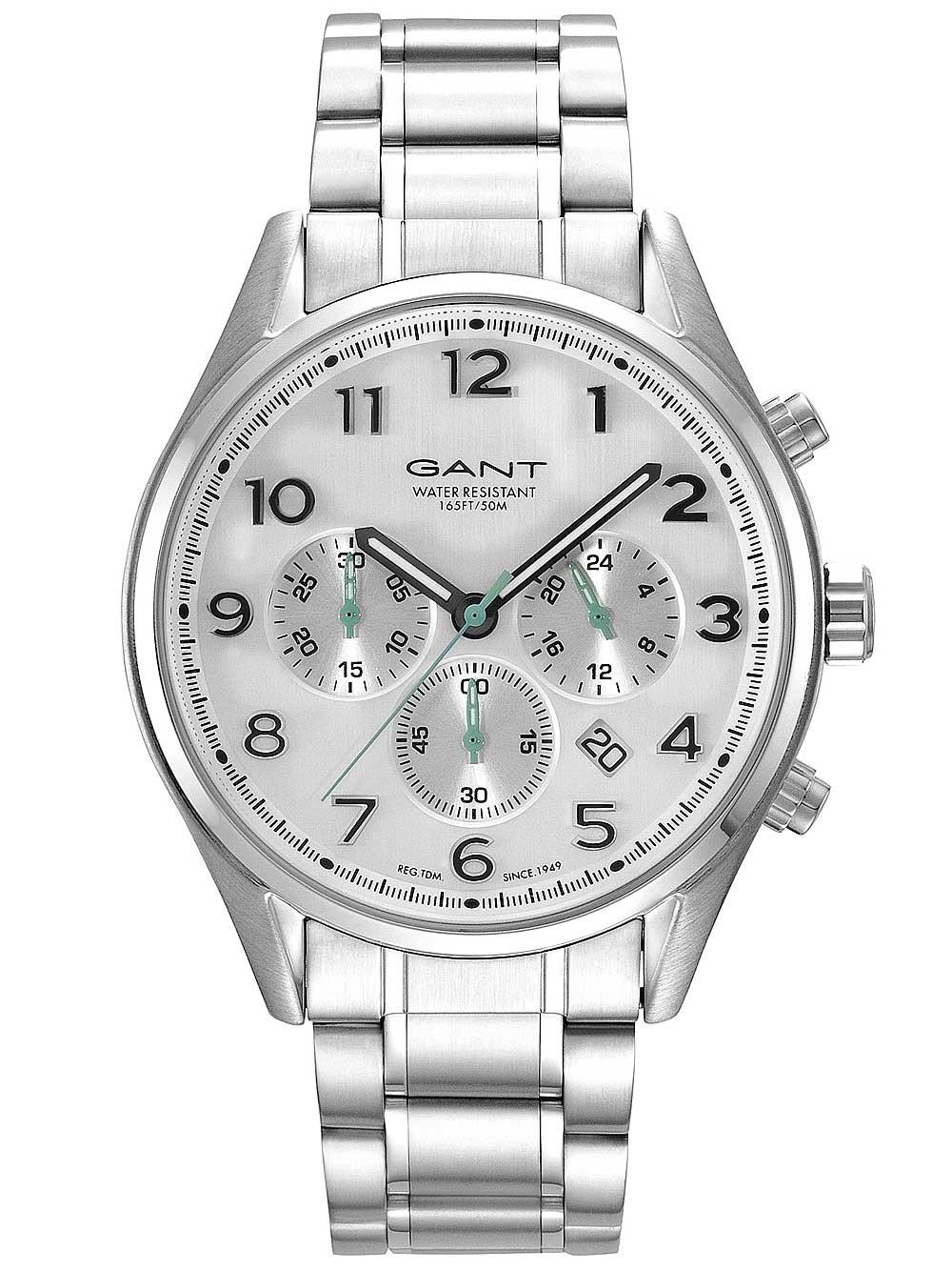 Ceas barbatesc Gant GT009002 Blue Hill 46mm 5ATM
