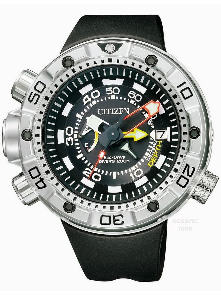 ceas barbatesc citizen promaster marine bn2021-03e 49 mm 20 atm
