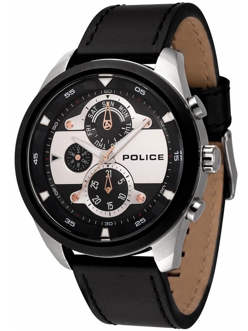 ceas barbatesc police pl14836jstb.02 marine 50mm 5atm