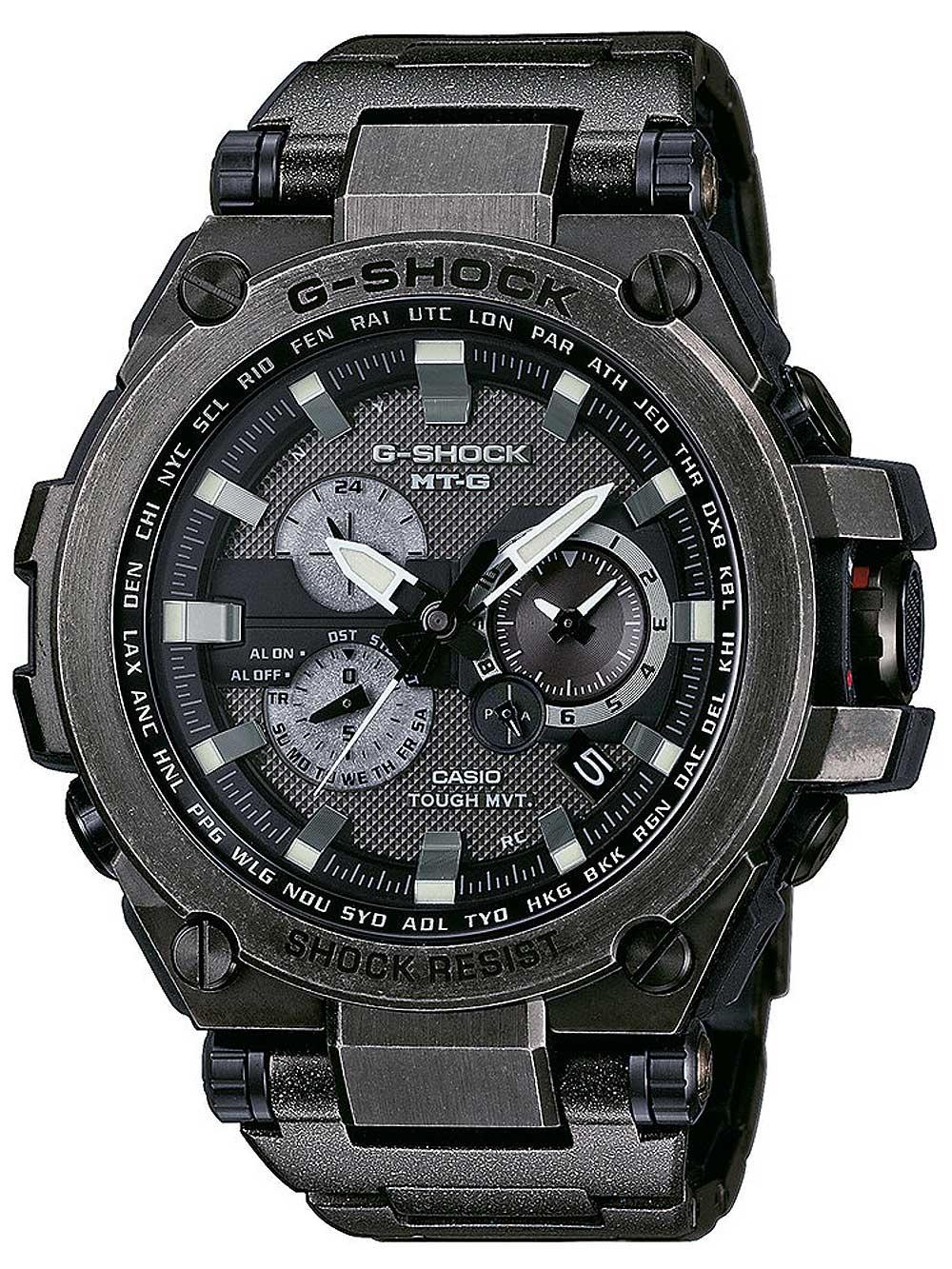 Ceas barbatesc CASIO MTG-S1000V-1AER G-Shock Radio-Solar 54mm 200M