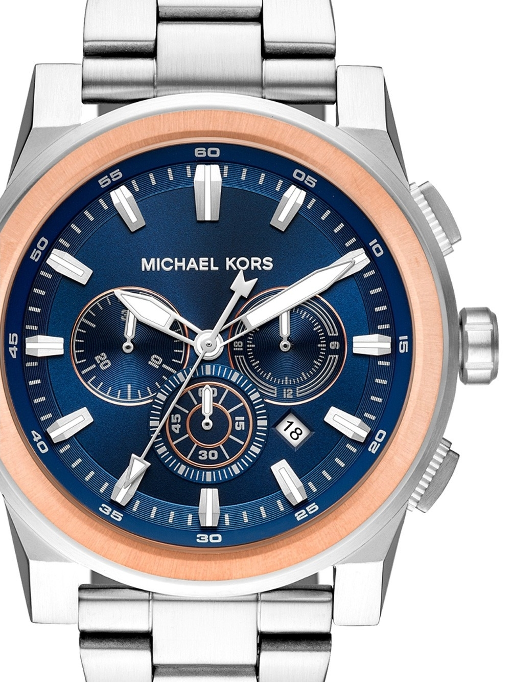 ceas barbatesc michael kors mk8598 grayson chrono. 47mm 10atm