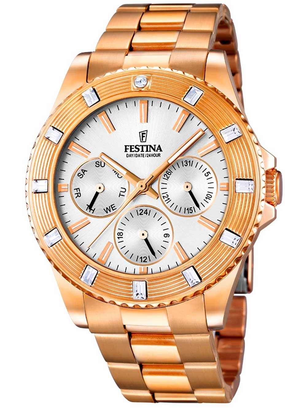 Festina F16789/1 Multifunktion Damen 40mm 5ATM
