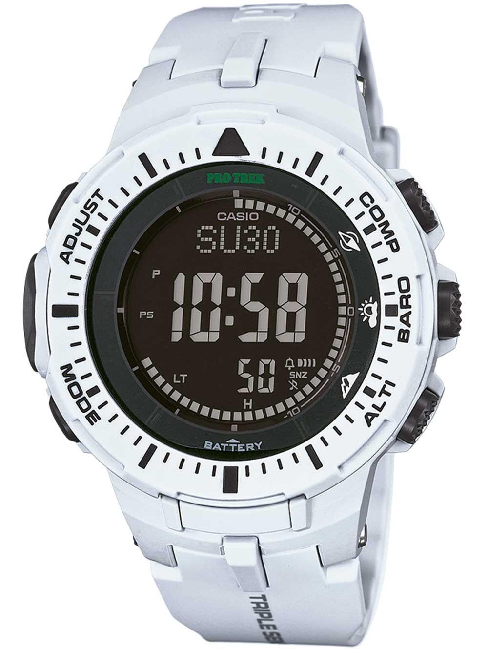 ceas barbatesc casio prg-300-7er pro-trek 46mm 10 atm