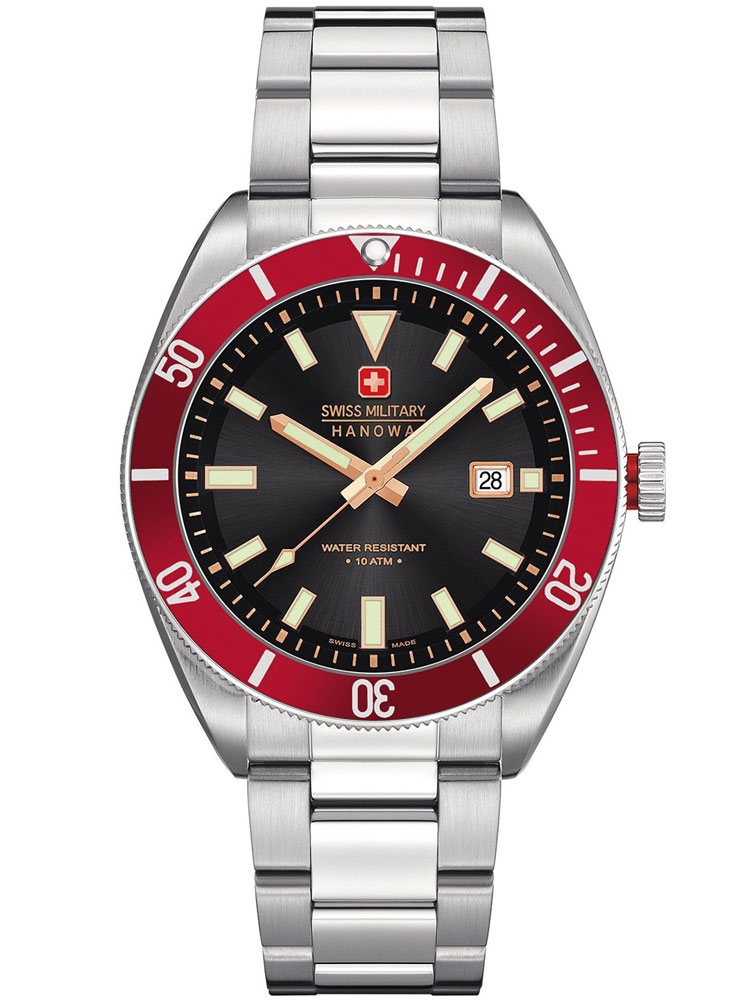 ceas barbatesc swiss military hanowa skipper 06-5214.04.007.04 42 mm