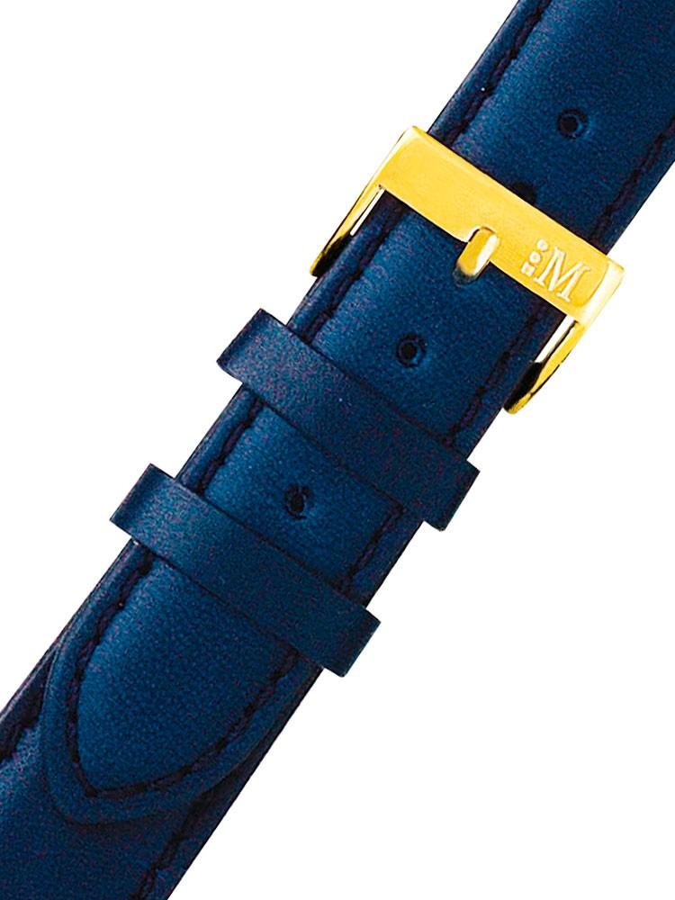 curea de ceas morellato a01k0969087064cr18 blaues uhren18mm