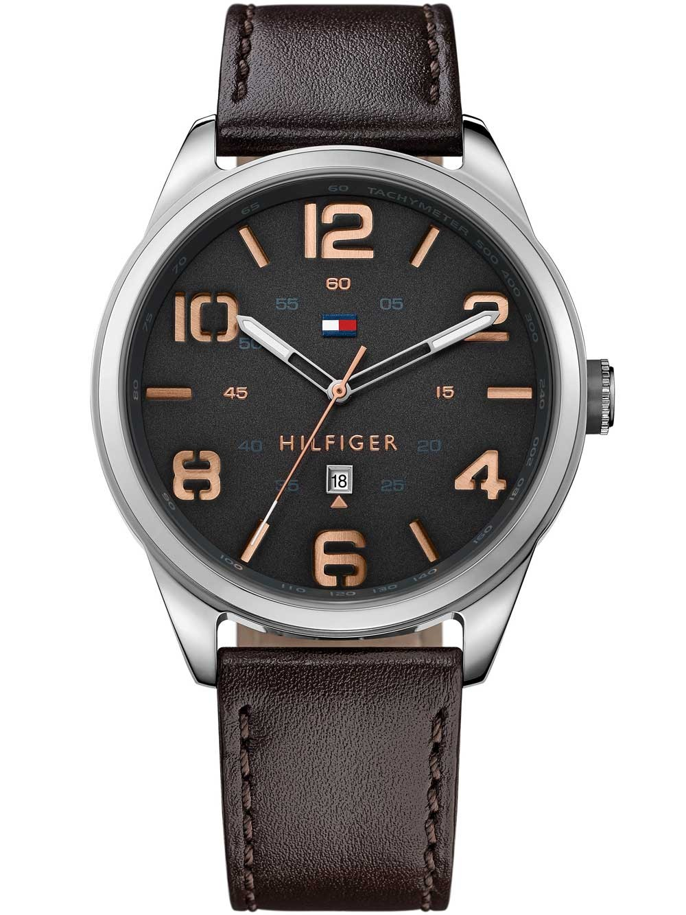watches chrono12 tommy hilfiger 1791157 herrenuhr 44mm. Black Bedroom Furniture Sets. Home Design Ideas