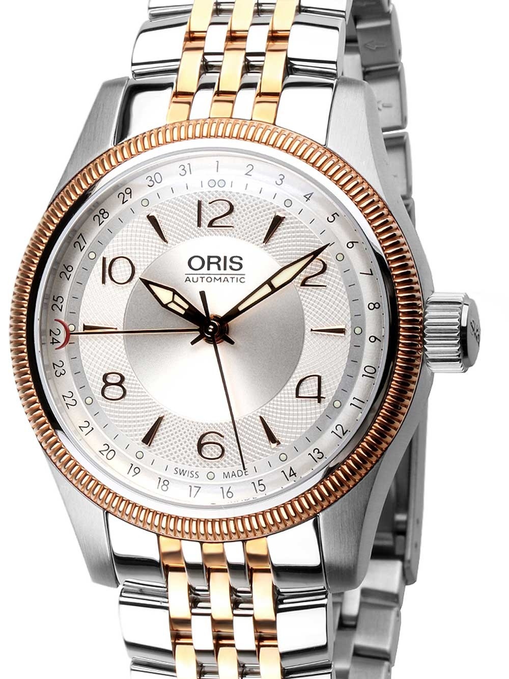 ceas barbatesc oris 0175476794331-0782032 big-crown automatic 40mm 10atm